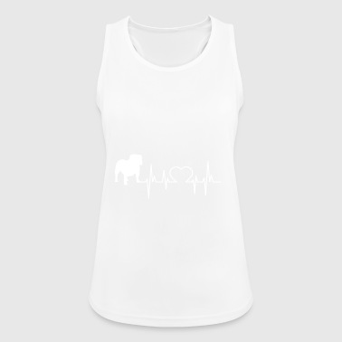 Bulldog gift shirt - Women's Breathable Tank Top