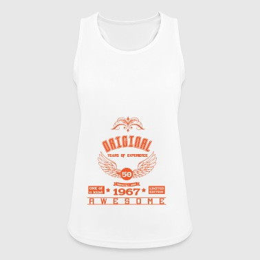 50th Birthday Shirt 1967 T shirt Gift - Women's Breathable Tank Top