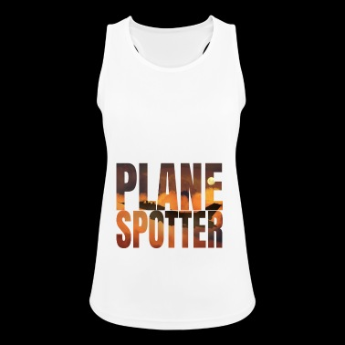Plane Spotter Photo Design Jet Jet Fighter - Women's Breathable Tank Top