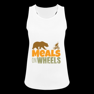 meals on wheels - Women's Breathable Tank Top