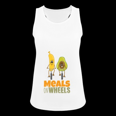 fruitonwheels - Meals on wheels - Women's Breathable Tank Top