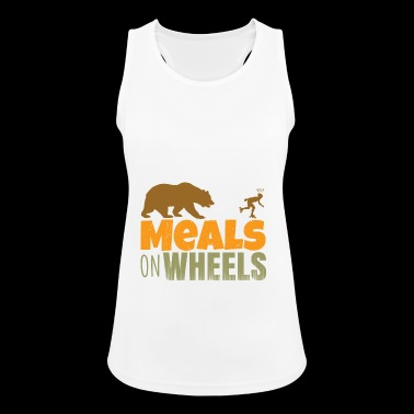 inlineskate - meals on wheels - Women's Breathable Tank Top