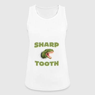 Shap Tooth Dinosaur - Women's Breathable Tank Top