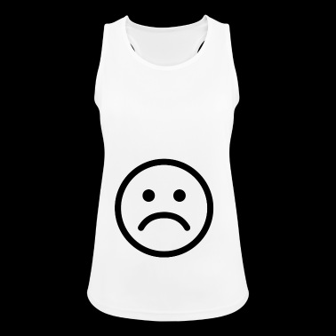 Sad smiley sad - Women's Breathable Tank Top