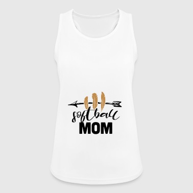 Softball mom - Women's Breathable Tank Top