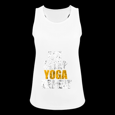 Yoga new age gift vintage namaste - Women's Breathable Tank Top