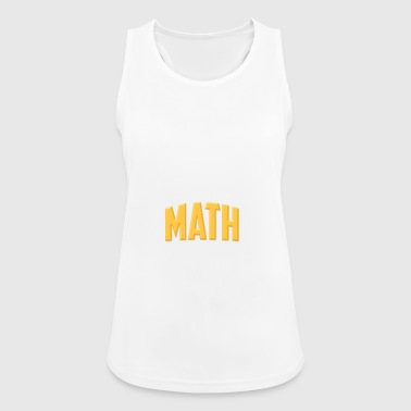 MATH IS WHERE IT COMES TOGETHER - Women's Breathable Tank Top