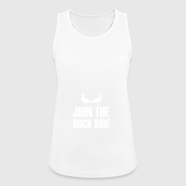 Join The Duck Side gift for Duck Hunters - Women's Breathable Tank Top
