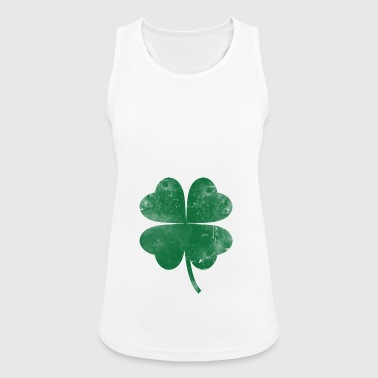 Four leaf clover gift Ireland - Women's Breathable Tank Top