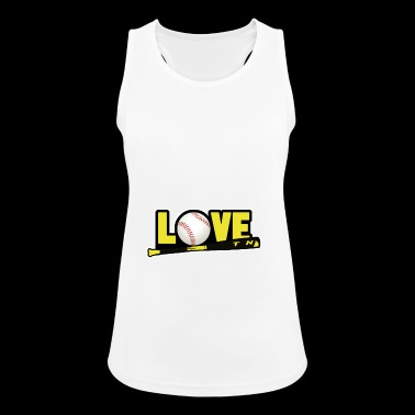 love softball - Women's Breathable Tank Top