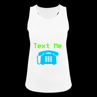 write me - Women's Breathable Tank Top