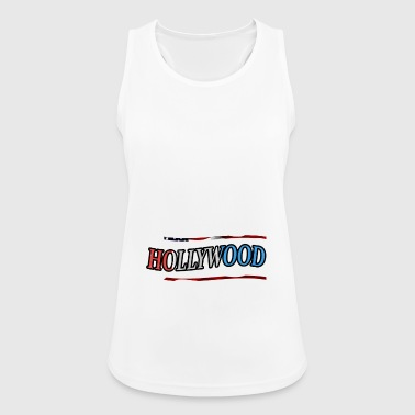 Hollywood - Pustende singlet for kvinner