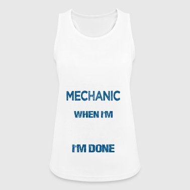 Mechanic Gift Mechanic Mechanic Car - Women's Breathable Tank Top
