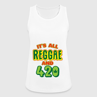Reggae music chilling gift Reggaeton - Women's Breathable Tank Top