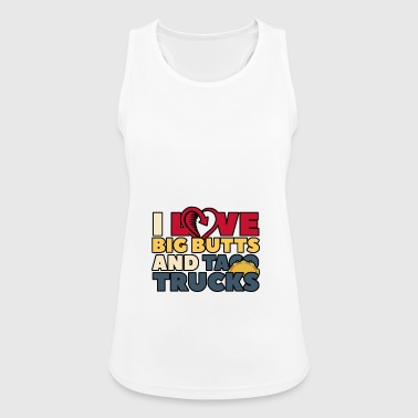 I LOVE BIG BUTTS AND TOCA TRUCKS - Women's Breathable Tank Top