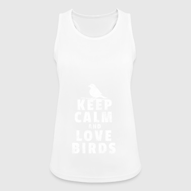 Bird nerd gift bird watcher birds bird - Women's Breathable Tank Top