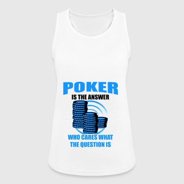 regalo di Poker - Top da donna traspirante