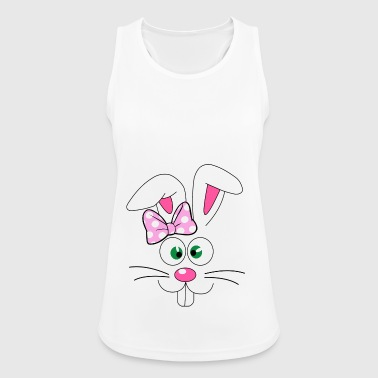 Easter Bunny Easter Bunny Face - Women's Breathable Tank Top