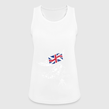 United Kingdom conquers space - Women's Breathable Tank Top