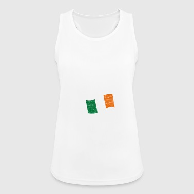 Ireland conquers space astronaut flag - Women's Breathable Tank Top