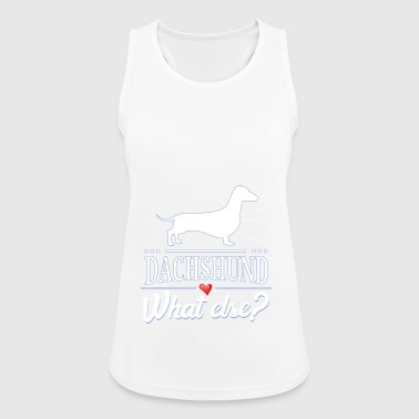 Dachshund what else? dachshund - Women's Breathable Tank Top