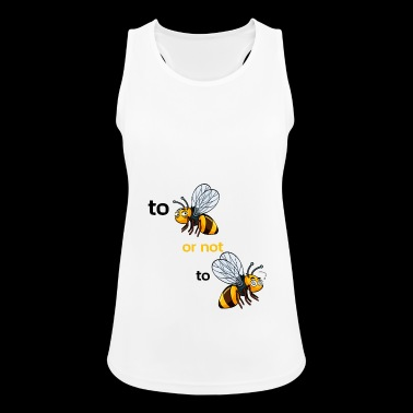 bee or not to bee - Women's Breathable Tank Top