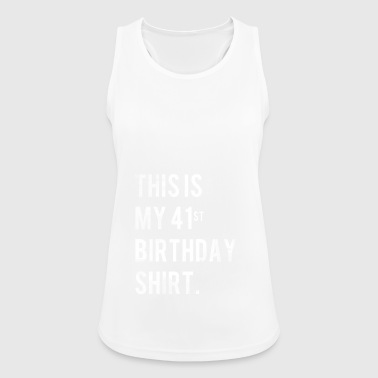 41st birthday shirt vintage 1977 gift - Women's Breathable Tank Top