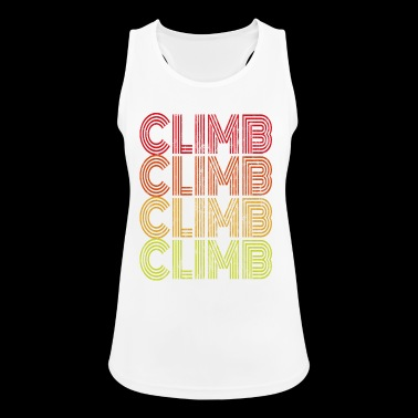 climb - Women's Breathable Tank Top