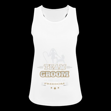 JGA Team Groom Groom's bachelorette party - Women's Breathable Tank Top