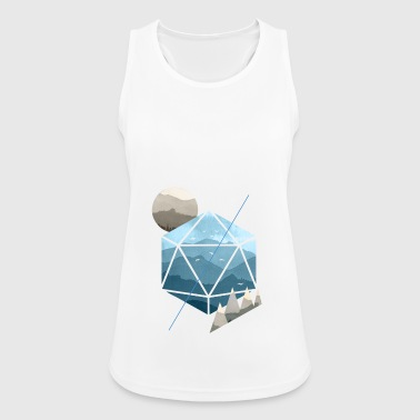 Dungeons & Dragons (Dnd) Watercolour D20 - Women's Breathable Tank Top