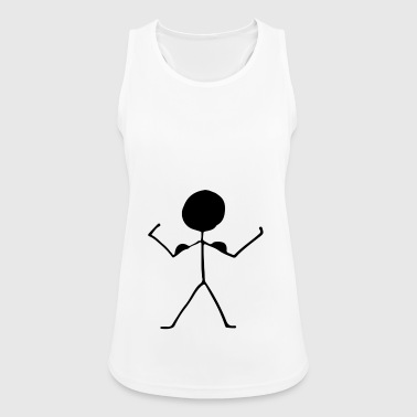 stick figure - Women's Breathable Tank Top