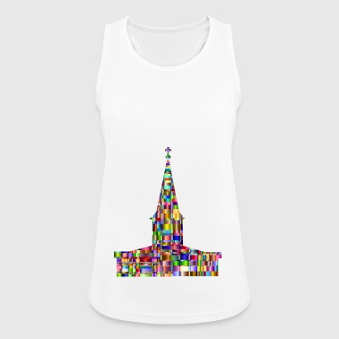 church - Women's Breathable Tank Top
