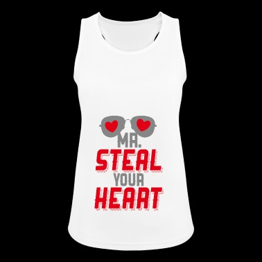 Mr Steal Your Heart - Women's Breathable Tank Top