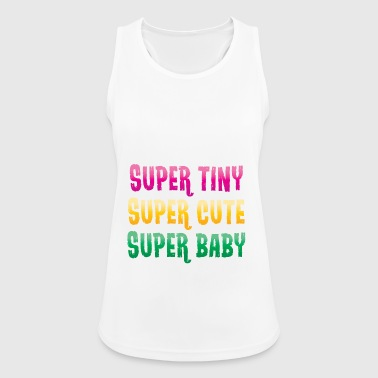 Super small - super sweet - super baby - pink - Women's Breathable Tank Top