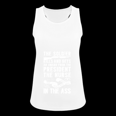 Soldiers are awarded - Nurses - Women's Breathable Tank Top