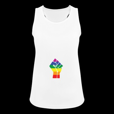 Gay Pride gift for Gays And Lesbians - Women's Breathable Tank Top