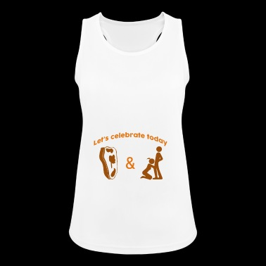 Let's celebrate Steak Blow Job Day - Women's Breathable Tank Top