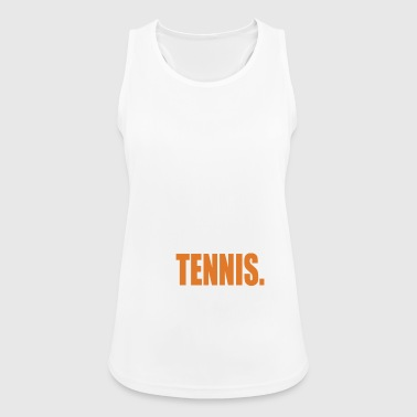 Tennis Tennis Player Tennis Ball - Dame tanktop åndbar