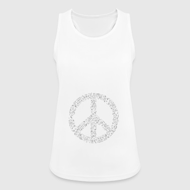 Peace - Frauen Tank Top atmungsaktiv