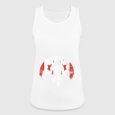 Canada flag - Women's Breathable Tank Top