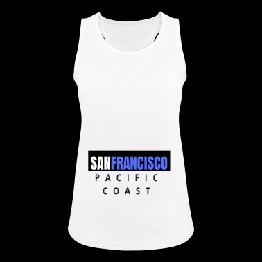 san francisco - pacific cost - Women's Breathable Tank Top