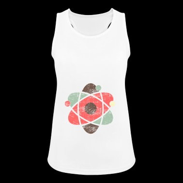 Atom symbol chemistry science - Women's Breathable Tank Top