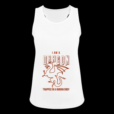 Dragons - Dragon - Dragon - Dragon - Human - Women's Breathable Tank Top