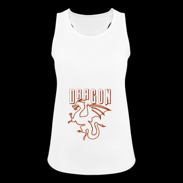 Dragons - Dragon - Dragon - Dragon - Women's Breathable Tank Top