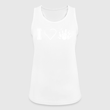 I love bowling bowling bowling - Women's Breathable Tank Top