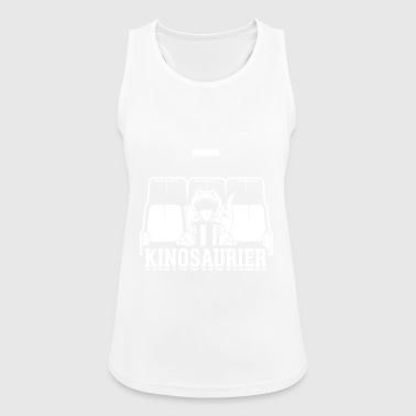 Cinema dinosaurs - Women's Breathable Tank Top