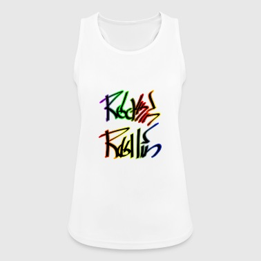 Rock and Roll Punk Rock - Women's Breathable Tank Top