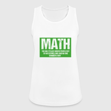 Math - Women's Breathable Tank Top