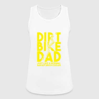 Dirt Bike Dad - Women's Breathable Tank Top