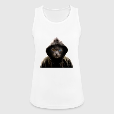 Kickboxing cat - Women's Breathable Tank Top